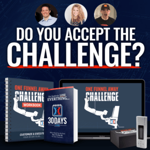 One Funnel Away Challenge! The Summit Is Totally Free!